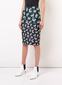 Yigal Azrouel | Floral Printed Pencil Skirt