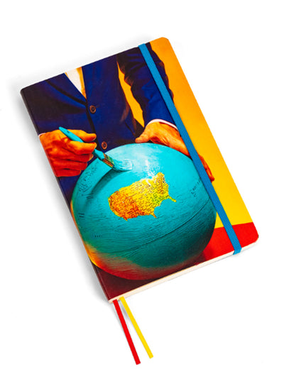 SELETTI | Big Notebook, Globe