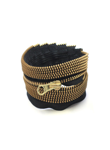 AUTUMNLIN | Gold Mini Zipper Bracelet