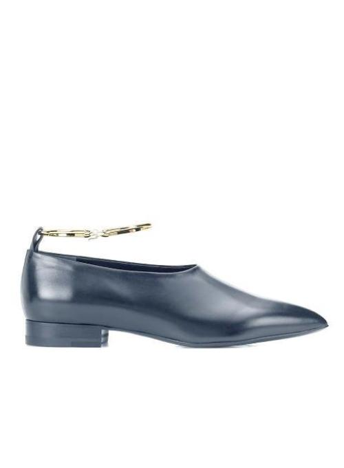 JIL SANDER | Flat Shoe with Removable Anklet