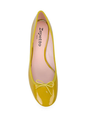 REPETTO | Farah Mid Heel in Chartreuse