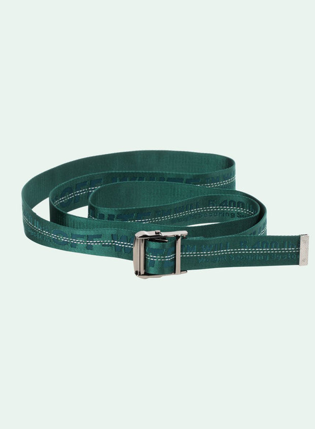 OFF-WHITE | Classic Industrial Belt, Dark Green
