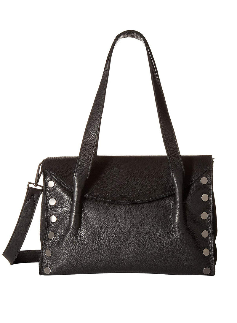 Hammitt | Shawn Black Gunmetal Medium Bag