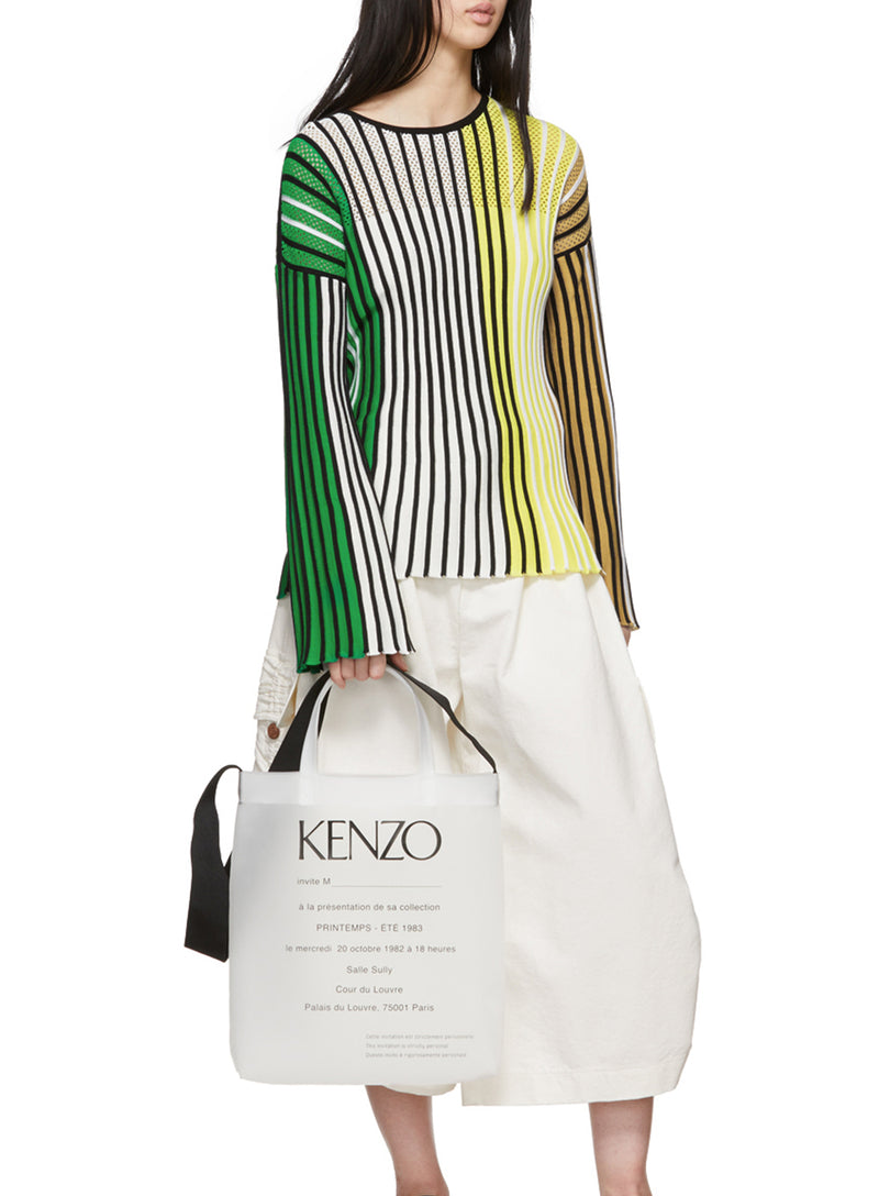 KENZO | Multicolor Vertical Ribs Sweater