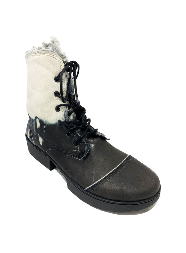 TRIPPEN | Lace-Up Tie Dye Desert Boot