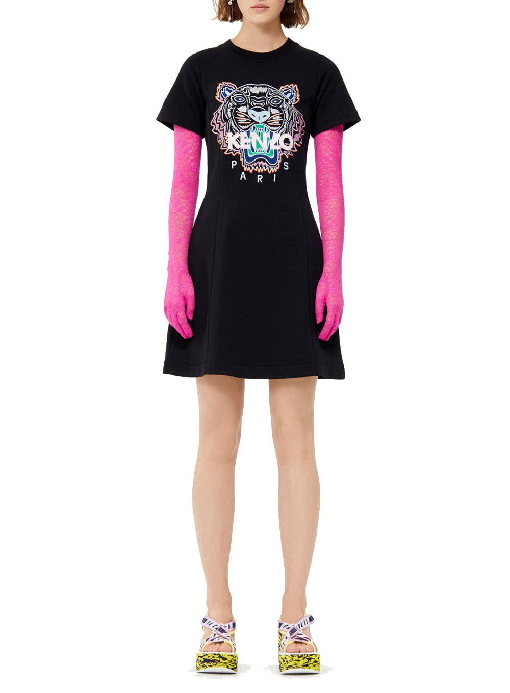 KENZO | Tiger Classic Short Sleeve T-Shirt Dress
