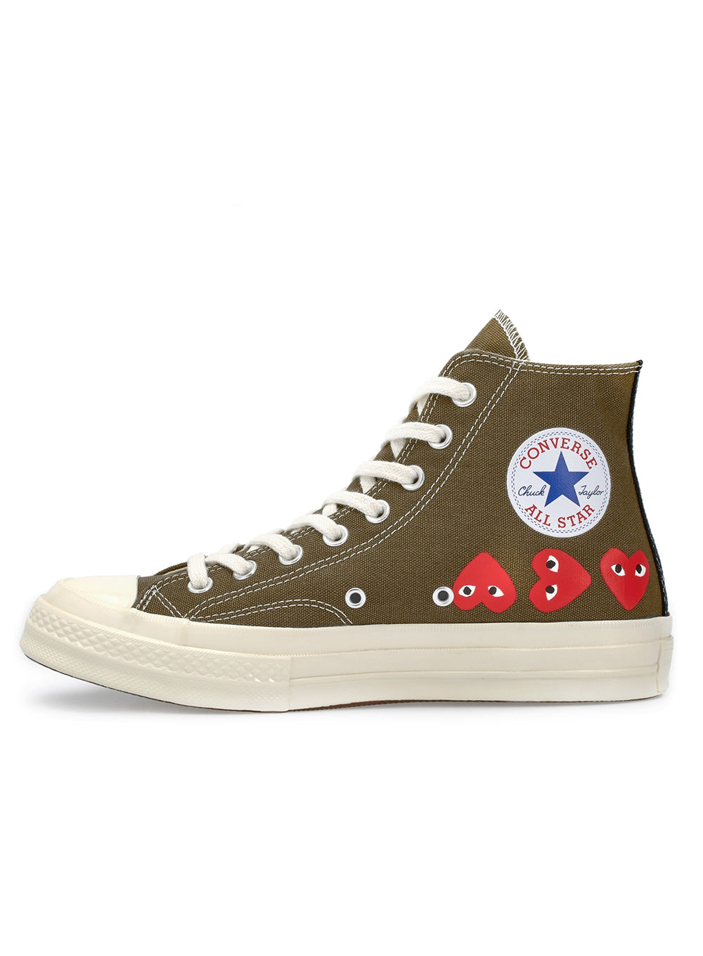 COMME DES GARÇONS PLAY | Unisex Chuck Taylor 1970s High-Top Sneakers
