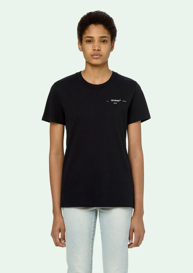 OFF-WHITE | Coral Arrows Short Sleeve T-Shirt in Black