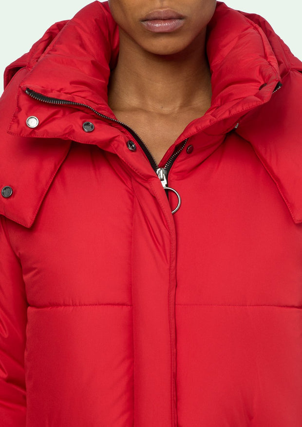 OFF-WHITE | Down Jacket in Red