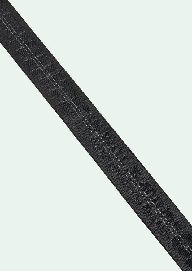 OFF-WHITE | Classic Industrial Belt, Black/Black