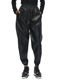 STELLA MCCARTNEY | Alter Leather Jogger Trousers