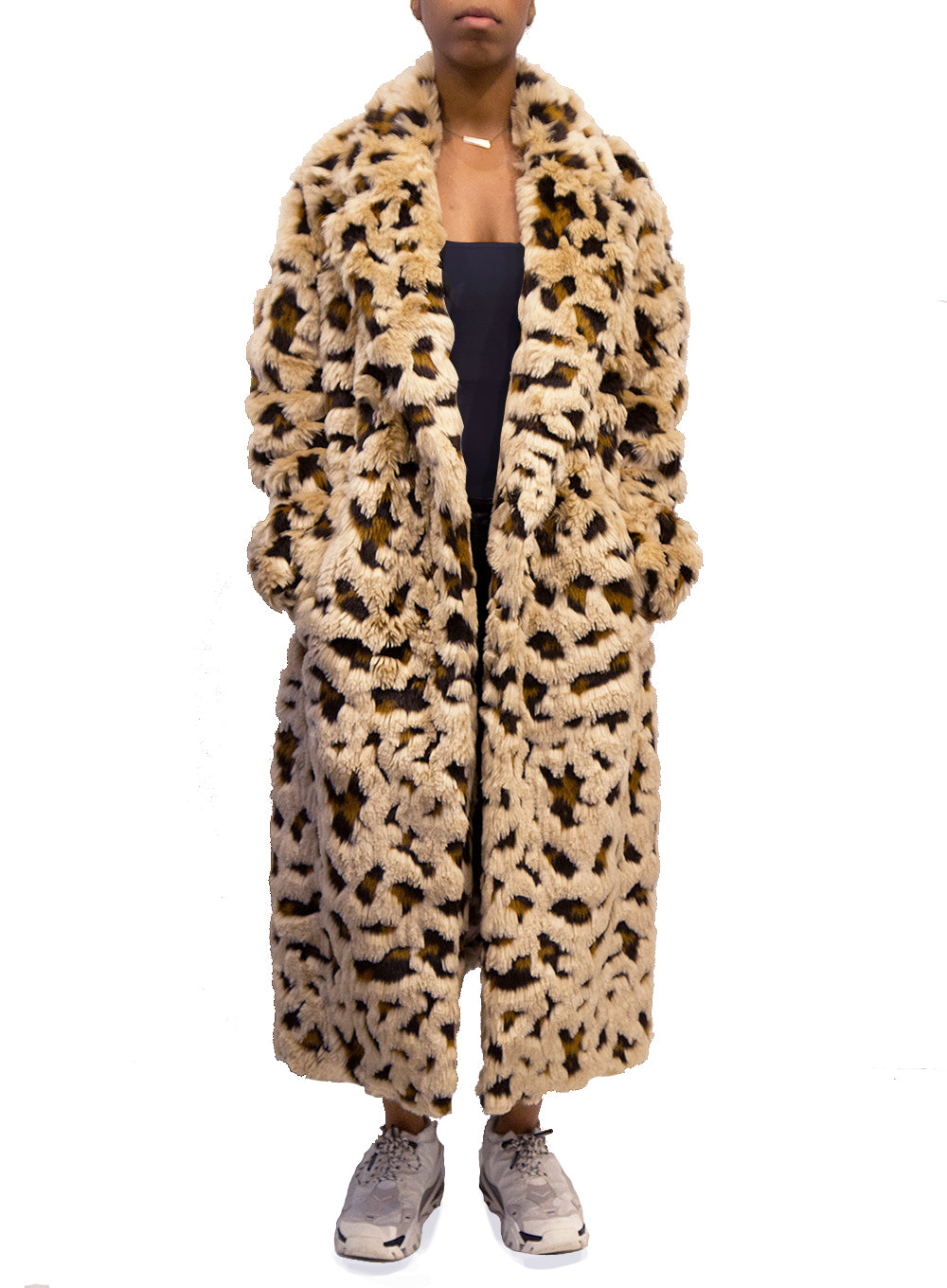 JUNYA WATANABE | Faux Fur Full Length Coat