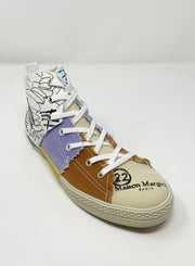 MAISON MARGIELA | High-Top Graffiti Sneakers