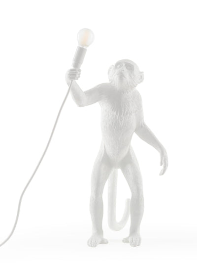 SELETTI | Resin Standing Monkey Lamp