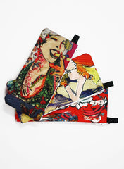 Liz Goldberg | Blue Ava Makeup Pouch