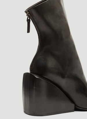 MARSÈLL | Massiccia Wedge Ankle Boots in Black