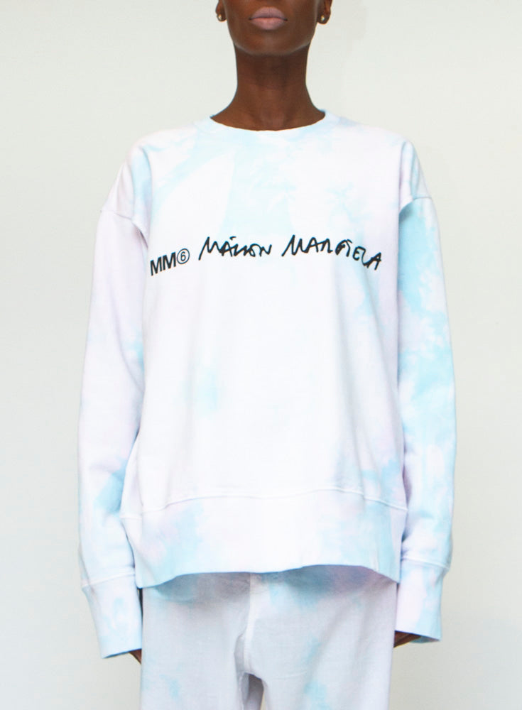 MM6 MAISON MARGIELA | Tie-Dyed Sweatshirt