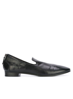 MARSÈLL | Back Zip Pointed Slippers
