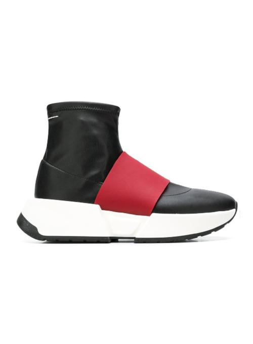 MM6 MAISON MARGIELA | Minimal Strap '15 Panelled Sock Sneakers