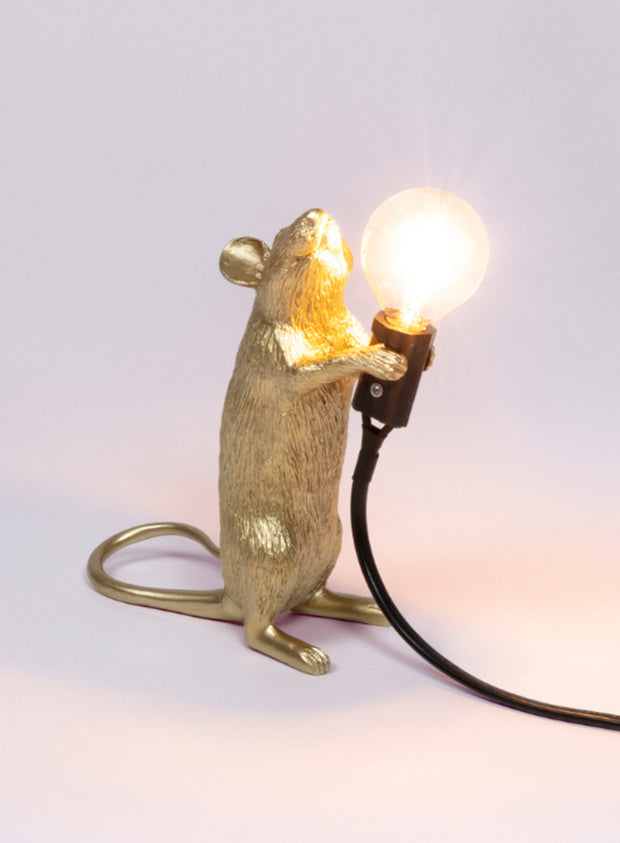 SELETTI | Resin Mouse Lamp