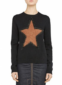 N°21 | Black Mohair Star Sparkle Sweater