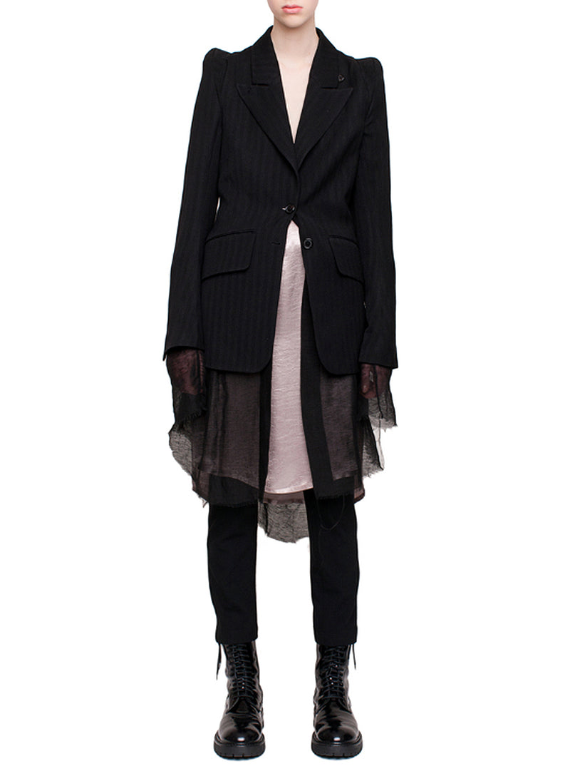 ANN DEMEULEMEESTER | Oberon Jacket in Black