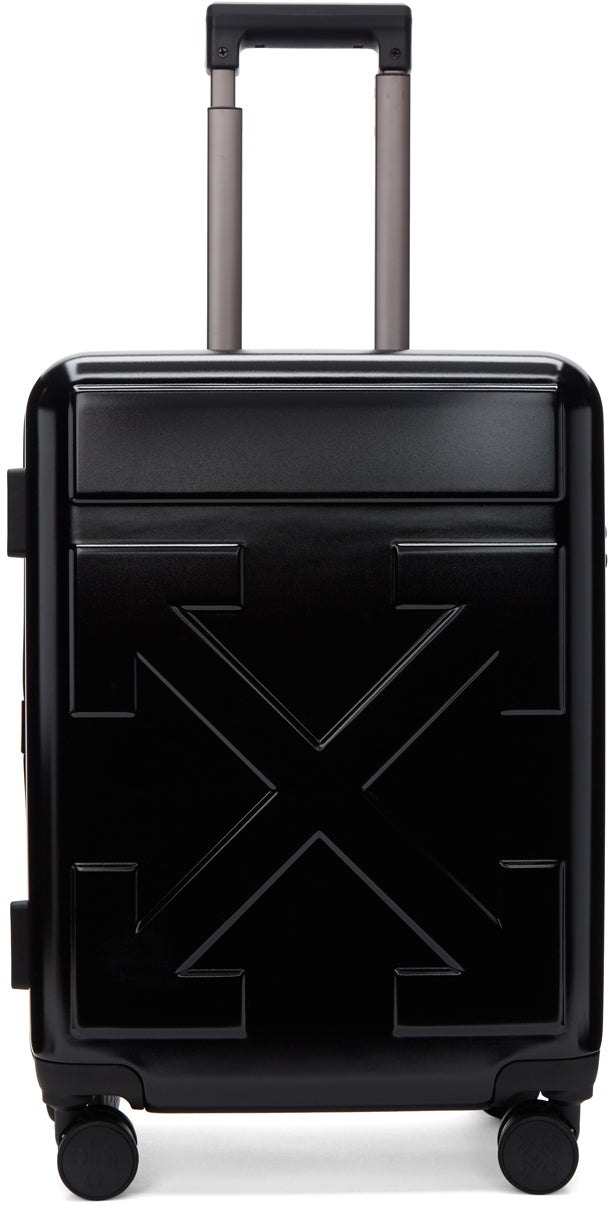 OFF-WHITE | Arrows Trolley Carry-On Luggage, Black