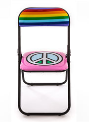 "SELETTI | ""Studio Job"" Peace Folding Chair"