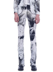 NORMA KAMALI | Boot Pants in Palm Beach Print