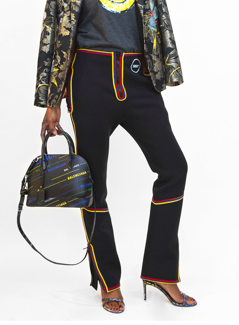 CALVIN KLEIN 205W39NYC | Multicolor Pants With Zip Details