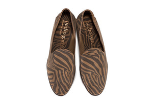 PEDRO GARCIA | Yoshi Soft Slip-On Flats in Tiger Print
