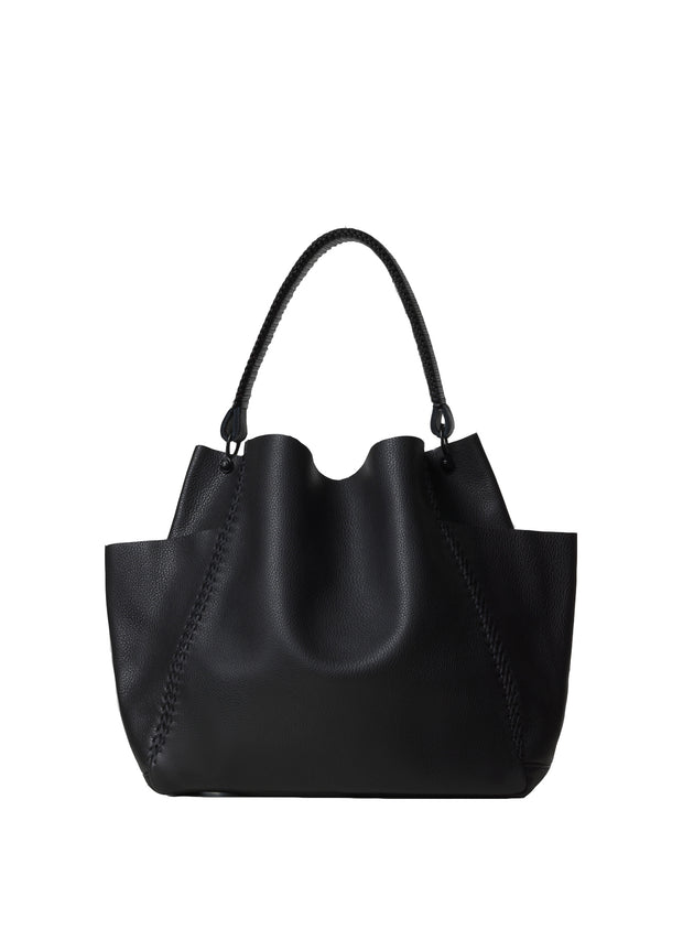 CALLISTA  | Perissa Shoulder Bag in Noir