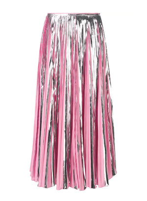 MARNI | Plisse Foil Ankle-Length Skirt