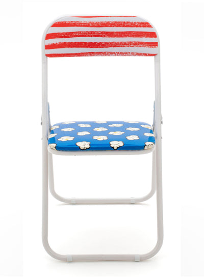 "SELETTI | ""Studio Job"" Popcorn Folding Chair"