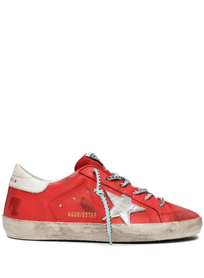 GOLDEN GOOSE | Cherry Red Superstar Sneakers
