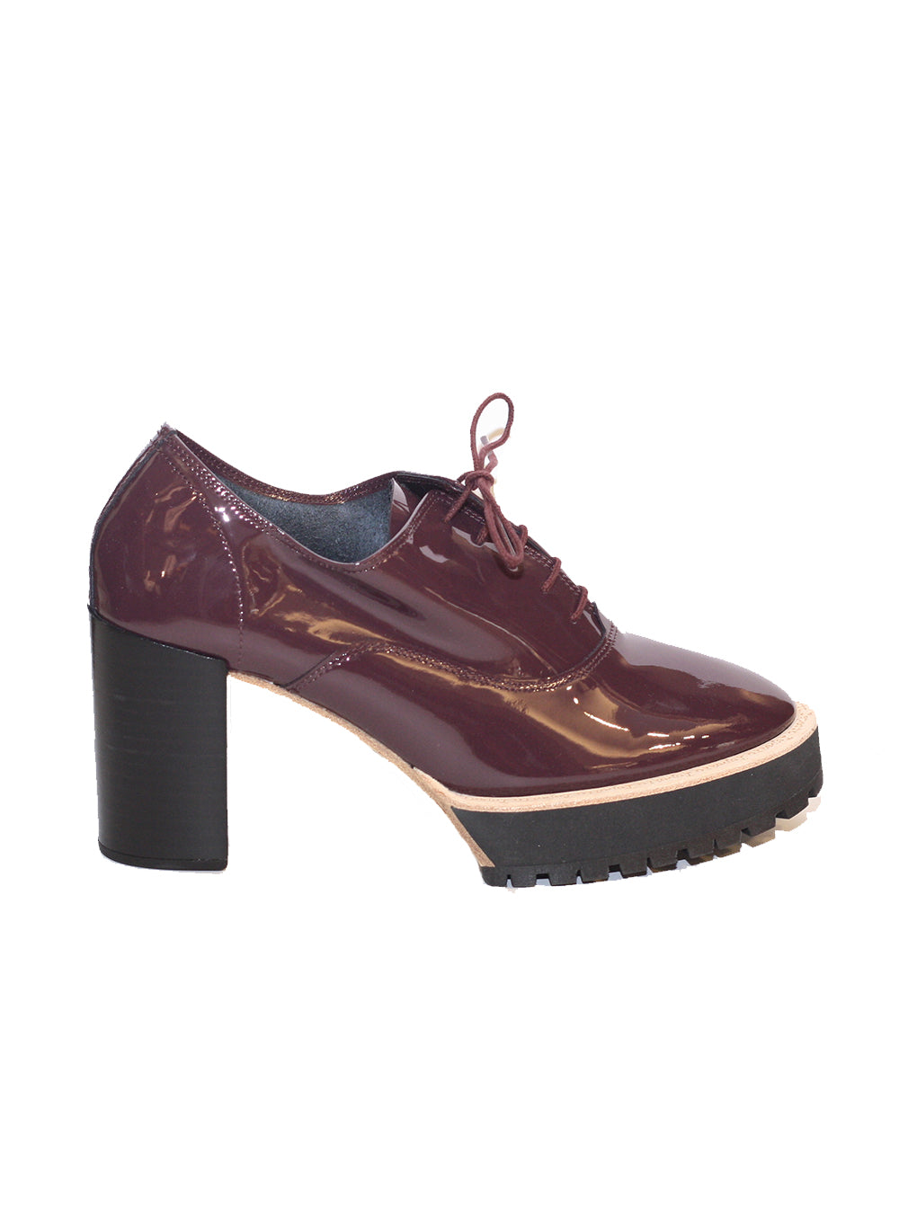 REPETTO | 'Ivan' Patent Leather Lace-Up High Heel