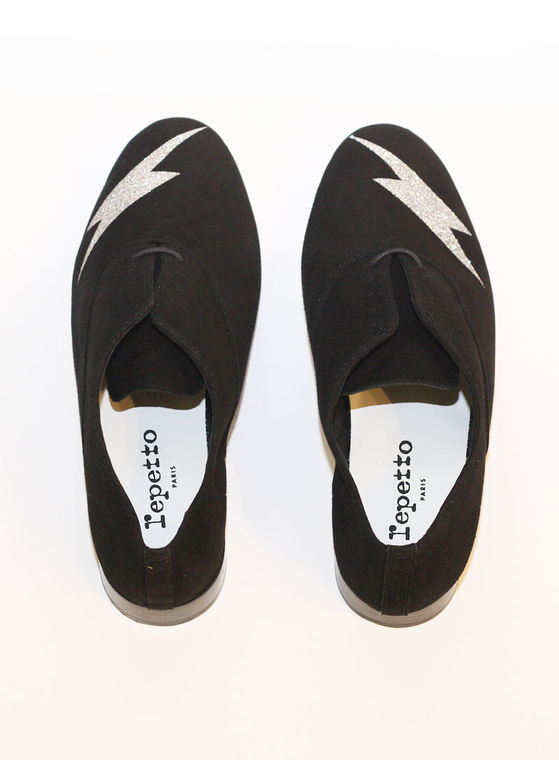 REPETTO | Zizi Casual Flat Lightning Bolt Shoes