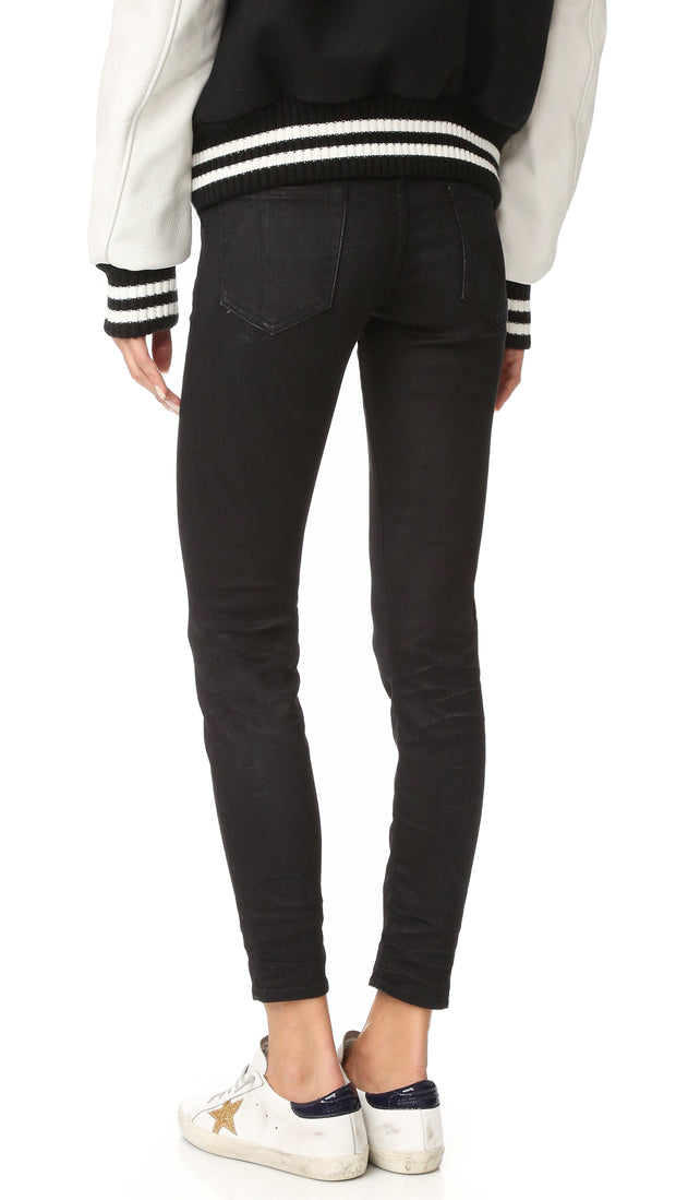 R13 | Boy Skinny Jeans in Black