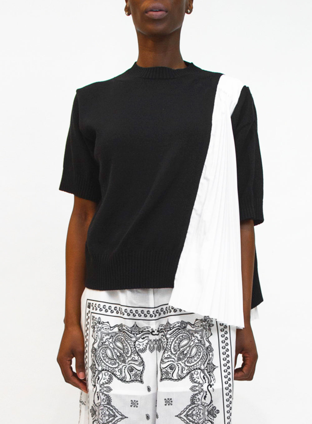 SACAI | Pleated Accordion Top