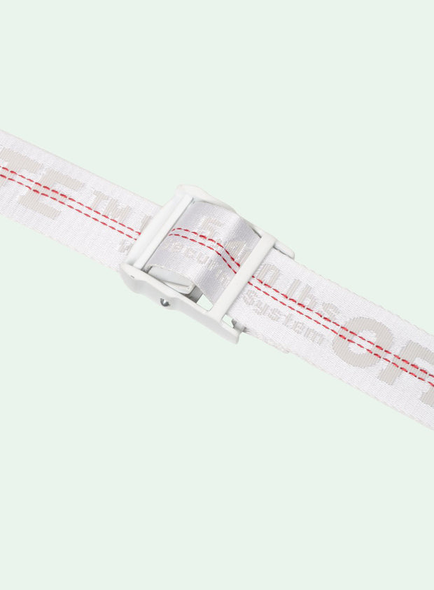 OFF-WHITE | Classic Industrial Belt, White