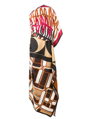 ERIKA CAVALLINI | Print Scarf Dress