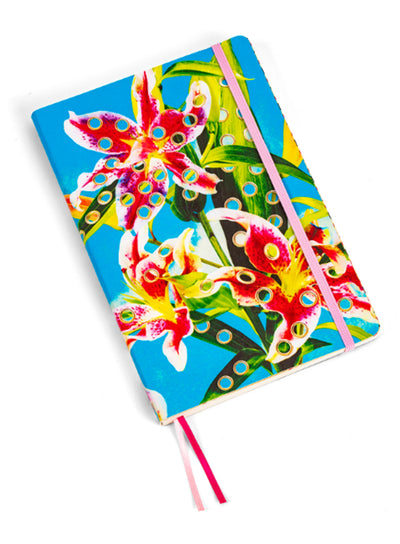 SELETTI | Big Notebook, Flowers