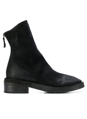 MARSÈLL | Rear Zip Fitted Boots