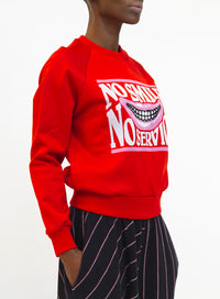 STELLA MCCARTNEY | 'No Smile No Service' Sweater