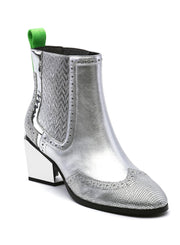 UNITED NUDE | Tetra Chelsea Boot in Silver