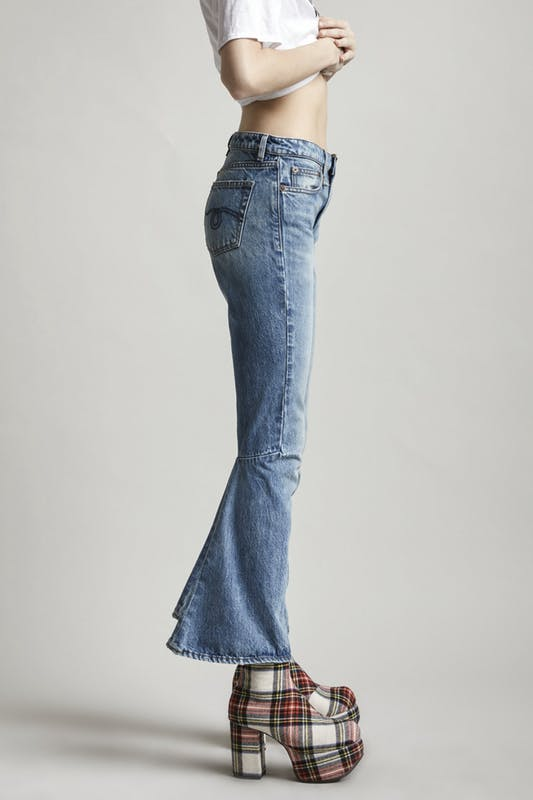 R13 | Caddy Jeans With Flare in Jasper