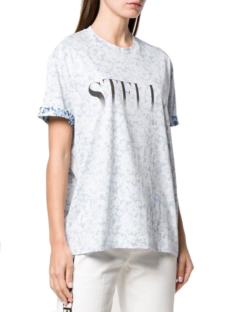 STELLA MCCARTNEY | Ditsy Floral Logo Graphic T-Shirt