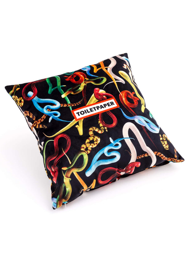 SELETTI | Snakes Cushion