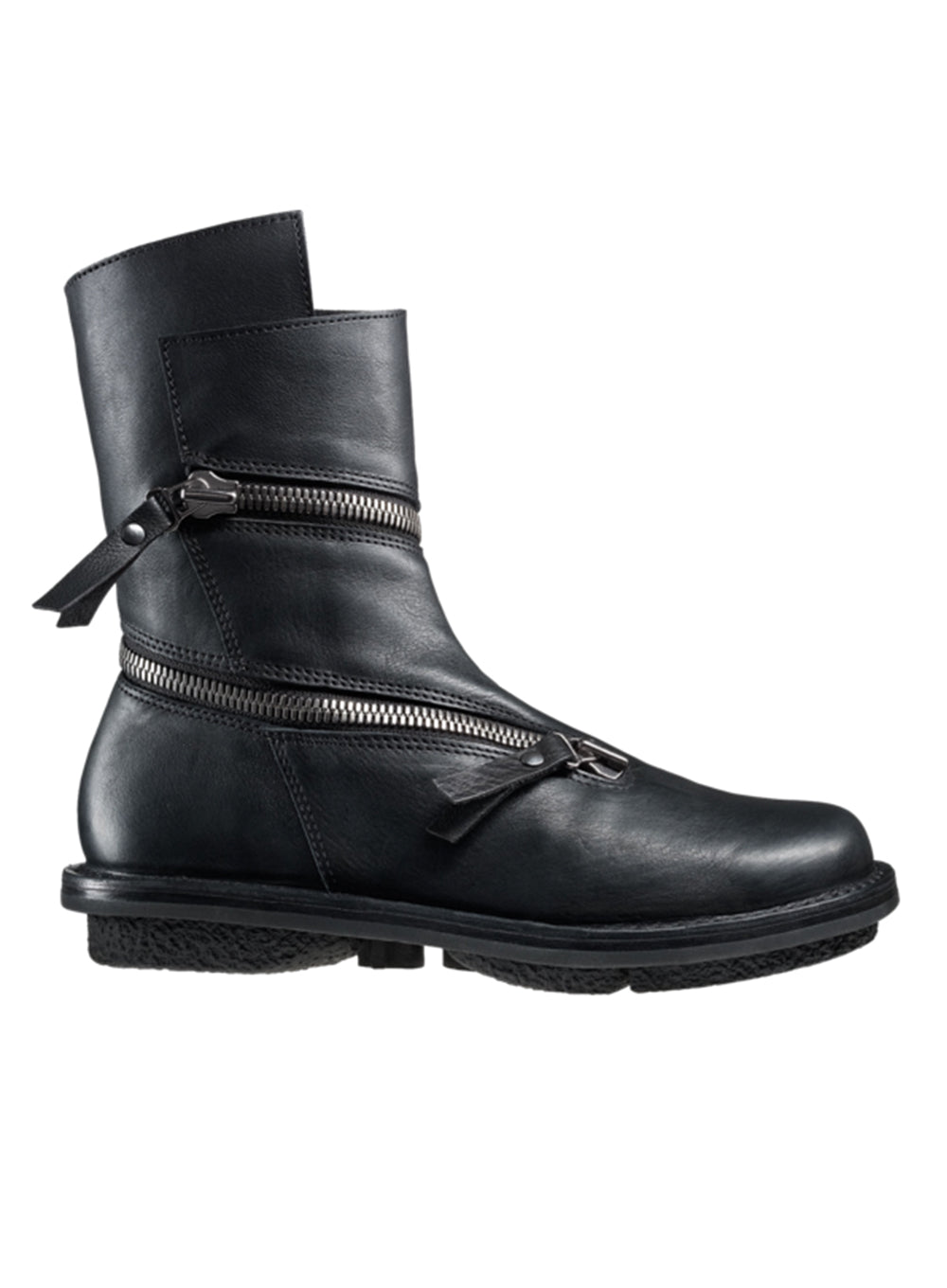 "TRIPPEN | ""Helix"" Flat Zipper Boot"