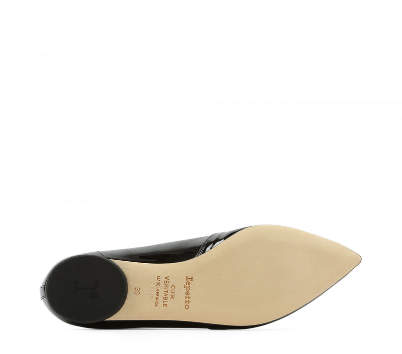 REPETTO | 'Louis Derbies' in Black Patent Leather